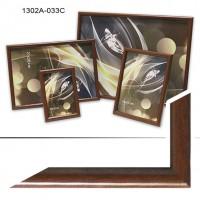 Рамка пластик А6 10*15(1302-147)коричне(50)