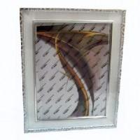 Рамка пластик40*60 (6201A-100В)бел60мм