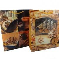 Пакет подар PVC 22*28см ПУТЕШЕСТВИЕ(1/12/960)2диз