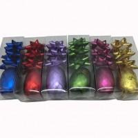 Набор  бантов д/подар упаковки из12шт( в комплекте 3шт+лента10мTYGYP-1(480)6цв