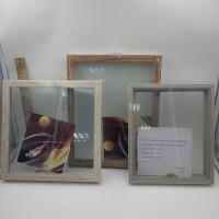 Рамка 3D аквариум пластик (2072)25*25