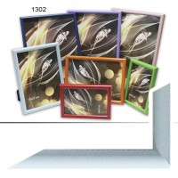 Рамка пластик А5 15*21(1302-431)голуб(40)
