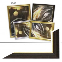 Рамка пластик А6 10*15(1503)корич(70)