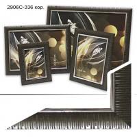 Рамка пластик А4 21*30(2906C-336)коричнев(30)