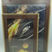 Рамка пластик А4 21*30(3816-85)кофе(30) 35мм