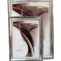 Рамка пластик А3 30*40(1702С3-111)серебро(18)