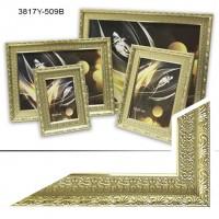Рамка пластик А6 10*15(3817A-509A)бронз+зол