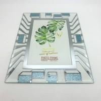 Рамка стекло 1225-10*15  Цветочки(48)