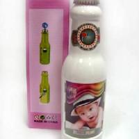 Рамка-копилка пластик Бутылка 2ф 6*9(144)LM7348