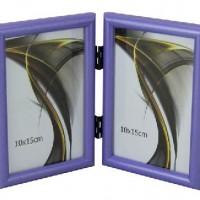 Ф/рамка вертик 1302-184сирен 2фото10*15  пластик (30)