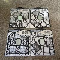 Фрамка-наклейка/пластик КОМБИ JX (360)