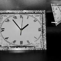"""Часы стекло BL-42""""Прямоугольник""""18*23 д/сублим(20)"""