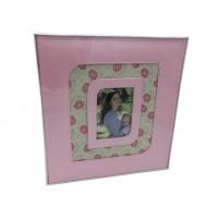 Ф/альбом SA20 DL Розовый с цветным окном 31*32(16)3600-1