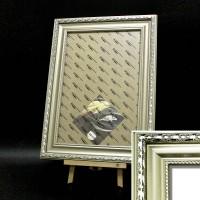 Рамка пластик А3 30*40(6302-150)сереб63мм
