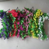 Букет искус. цветов свисающий ЛЮТИКИ 100см 3575 5цвет