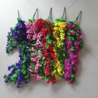 Букет искус. цветов свисающий РОМАШКИ100см 3574 5цвет