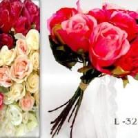 Букет Роз из 12шт. 32см (0184-SZMLM-2) красные