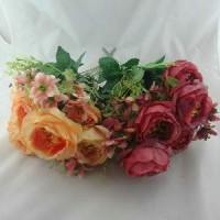 Букет Роз из 9шт. 32см (A15-017) 3 цвета  45 см  Бутон 9 см