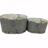 Комплект коробок подарочных Шкатулки из 2-ух шт 24*13*171см 061(32)