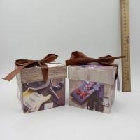 """Коробка подар д/кружки 013+012-10*10см""""Для мужчин""""(750)"""