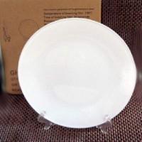 Тарелка 3D стекло матов ВОЛНА д/сублим-D25см+подставка (24)GHP-12