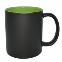 Кружка хамелеон черная/внутри зеленая (48)MUG04A