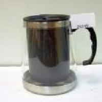 КРУЖКА-Чайник хамелион пластик с метал колбой черный(50)