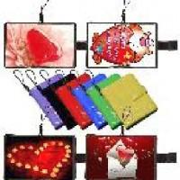 Брелок-магнит-обложка для вставки фото 3*4см 6цв (РАСХОДНИК без вставки фото)