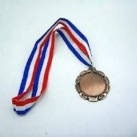 Медаль БРОНЗА с пластиной д/сублимации WX-6015B