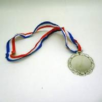 Медаль СЕРЕБРО с пластиной д/сублимации WX-6051S