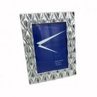 Рамка пластик 13*18 845 резная серебро(48)