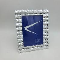 Рамка пластик 13*18 842 резная серебро(48)