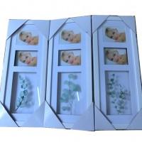 Рамка-пано КОМБИ ВЕТКА пластик2ф10*15 объемные57*26(24)HF1901-4