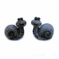 """Набор фигурок """" 2 УЛИТКИ""""керамика 22425(36)"""