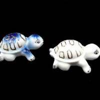 "Фигурка декорат ""Черепашка""фарфор F1341(360)"