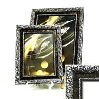 Рамка пластик40*50(5602-018) бронз+сер 62ммPVC