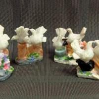 "Фигурка декорат ""Пара голубей ""  7.5x8x5 cm  полистоун0331(564)"