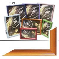Рамка пластик А5 15*21(1302-204)оранж(40)