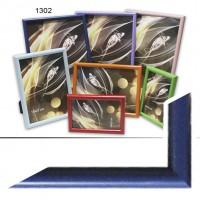 Рамка пластик А6 10*15(1302-653)синий(50)