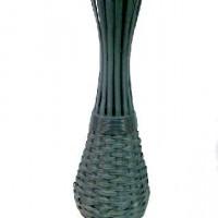 Ваза декоративная плетеная дерево 70см(1/12) XB15832