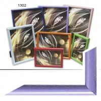 Рамка пластик А6 10*15(1302-184)сиренев(48)