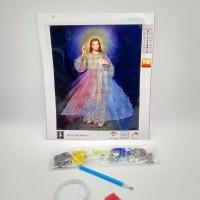Алмазная мозаика 7514-3-08   Иисус Христос    Католическая