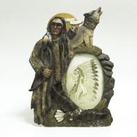 Рамка керамика  10х15 Индеец 13057(36)