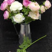 Букет  Пионовидная Роза (2 цветка)  40 см  4 цвета Бутон 6 см