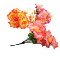 Букет искус. цветов  0013-3  35 см  бутон  10 см    4 цвета
