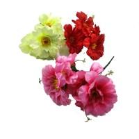 Букет искус. цветов   0013-5  30 см  Бутон 13 см  3 цвета