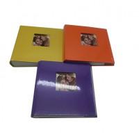 Ф/альбом  200ф 10х15 книга Цветные 3цвета(24)4204-200