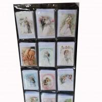 Набор открыток+конверт200шт СВАДЬБА TYZP-1(60)