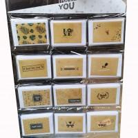 Набор открыток+конверт200шт КРАФТ TYZP-2(60)