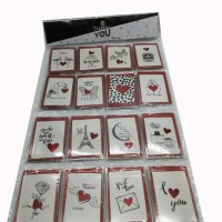 Набор открыток+конверт128шт LOVE TYZP-5(60)